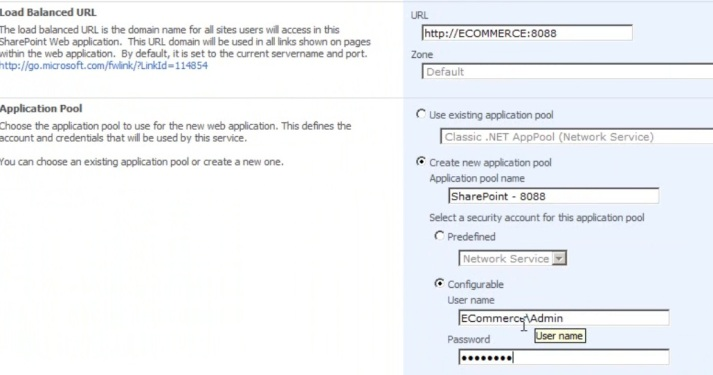 Commerce Server 2009 Installation guide